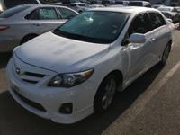 POWER SUNROOF, Corolla S, 4D Sedan, 1.8L I4 DOHC Dual