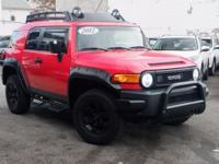 Recent Arrival! 2012 Toyota FJ Cruiser Red Clean