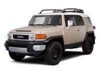 PREMIUM & KEY FEATURES ON THIS 2012 Toyota FJ Cruiser