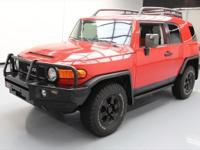 This awesome 2012 Toyota FJ Cruiser 4x4 comes loaded
