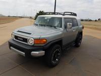 We are excited to offer this 2012 Toyota FJ Cruiser.
