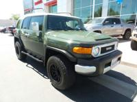 New Arrival! LOW MILES, This 2012 Toyota FJ Cruiser 4WD