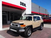 Have we got the SUV for you! This 2012 FJ Cruiser runs
