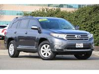 New Price! CARFAX One-Owner. Charcoal 2012 Toyota