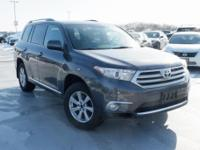Certified. 2012 Toyota Highlander Magnetic Gray