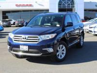 This outstanding example of a 2012 Toyota Highlander is