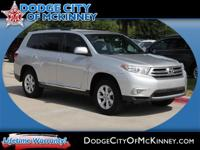 Load your family into the 2012 Toyota Highlander!