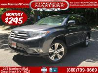 This Incredible Grey 2012 Toyota Highlander XLE AWD