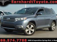 We are happy to offer you this 2012 Toyota Highlander