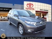 Options:  2012 Toyota Highlander Limited|Limited 4Dr