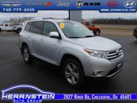 2012 Toyota Highlander Limited Accident Free AutoCheck