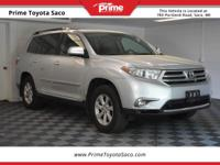 CARFAX One-Owner. 2012 Toyota Highlander SE in Classic