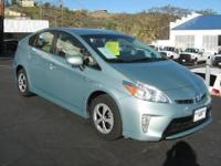 2012 Toyota Prius Two Hatchback 4D. Rear Spoiler, Alloy