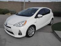 This attractive 2012 Toyota Prius c is the gas-saving
