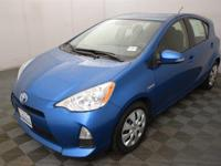 Prius c Three, 5D Hatchback, 1.5L 4-Cylinder