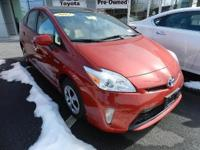 2012 TOYOTA PRIUS FOUR WITH SOLAR ROOF PACKAGE IN