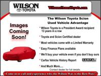 Local Car, **1 OWNER**, **WILSON WARRANTY**, 1.8L