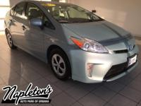 Recent Arrival! 2012 Toyota Prius in Sea Glass Pearl,