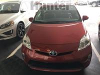 Recent Arrival! 2012 Toyota Prius Three Red **CLEAN