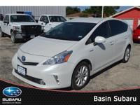 Our versatile 2012 Toyota Prius v Five wagon shown in