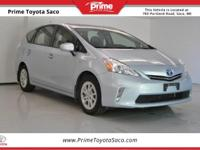 Toyota Certified! Carfax One Owner! 2012 Toyota Prius v