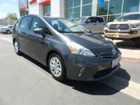 PREMIUM & KEY FEATURES ON THIS 2012 Toyota Prius v