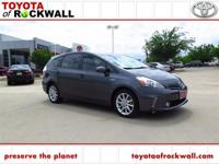 Prius v Five w/ Heated Leather & Navigation. Don't let