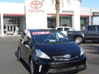 The v in Prius v stands for versatility. The new Toyota