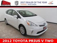 CARFAX One-Owner. Clean CARFAX. White 2012 Toyota Prius