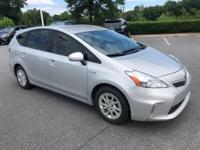 Classic Silver Metallic 2012 Toyota Prius v Two FWD CVT