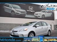 Delivers 40 Highway MPG and 44 City MPG! Carfax