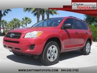 2012 Toyota RAV4 4 Cyl, 1 FLORIDA OWNER CLEAN VEHICLE
