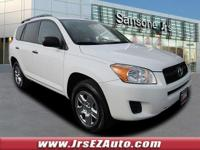 Super White 2012 Toyota RAV4 4WD 4-Speed Automatic 2.5L