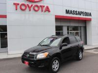 Black 2012 Toyota RAV4 4WD 4-Speed Automatic 2.5L