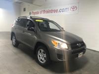 Toyota Certified, LOW MILES - 59,784! RAV4 trim, PYRITE