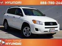 White 2012 Toyota RAV4 FWD 4-Speed Automatic 2.5L