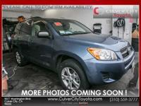 Options:  2012 Toyota Rav4 Base|Blue|Carfax One Owner.