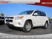 2012 Toyota RAV4 Limited 4WD, *** 1 OWNER *** CLEAN