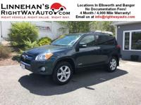 This is a very nice Toyota Rav4 Limited All Wheel Drive