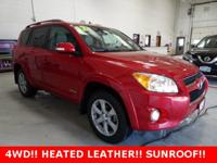 * ONE OWNER--LOCAL TRADE *, * 4WD *, * SUNROOF/MOONROOF