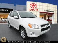 Options:  2012 Toyota Rav4 Limited|Limited 4Dr