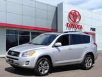 CARFAX One-Owner. Silver 2012 Toyota RAV4 Sport 4WD