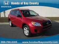 Honda of Bay County presents this 2012 TOYOTA RAV4 FWD