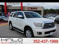 2012 TOYOTA SEQUOIA 4WD PLATINUM LOADED WITH REAR DVD