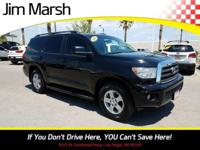 Toyota Sequoia SR5, 2012 model with a clean Carfax! A