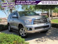 2012 Toyota Sequoia SR5 5.7L 3RD ROW SEATS, LOW MILES!