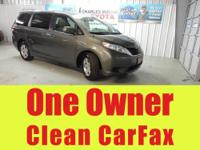 Carfax One Owner, CLEAN CARFAX, and NEW TIRES! Room!