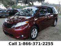 2012 Toyota Sienna LE Features: 24k miles - one owner -