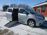 This 2012 Toyota Sienna comes with the Braun Entervan