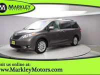 Our Carfax One Owner 2012 Toyota Sienna XLE 7 Passenger